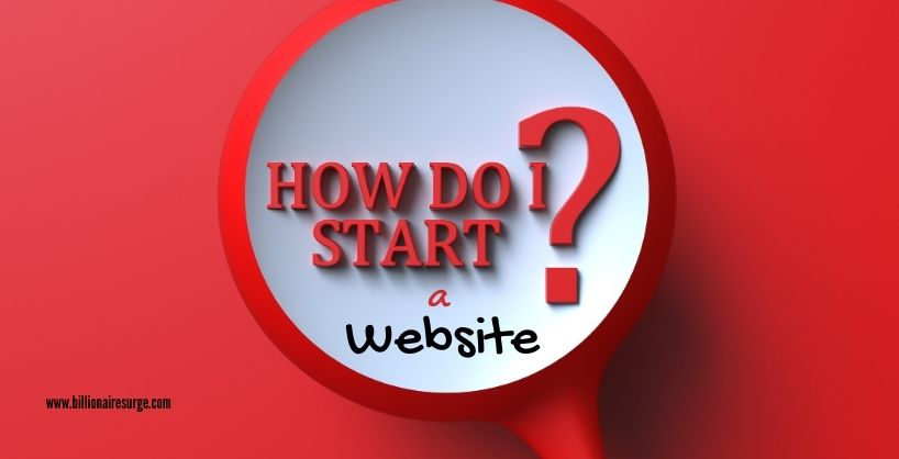 How to start your own website. Complete step by step