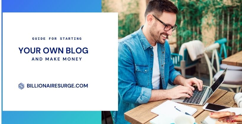 How to start a professional blog and make money.